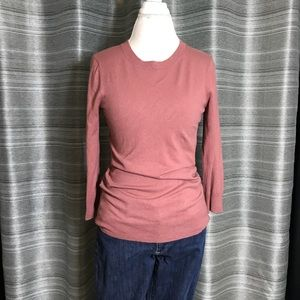 Dusty rose pink sweater - med tall